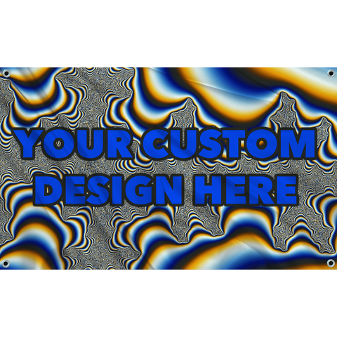 Trippy Custom Flag