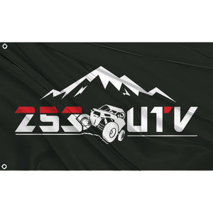 Fest Flags 253 UTV Black RZR Flag