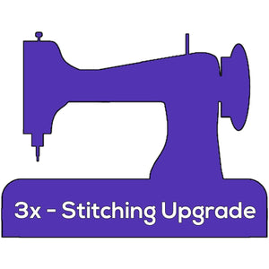 Triple Edge Stitching + { $1.99 }