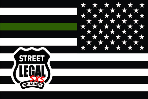 StreetLegal.us - Whip Flags - Military