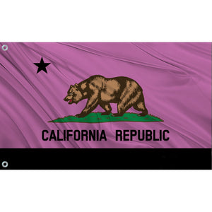 California State Flag (Magenta)