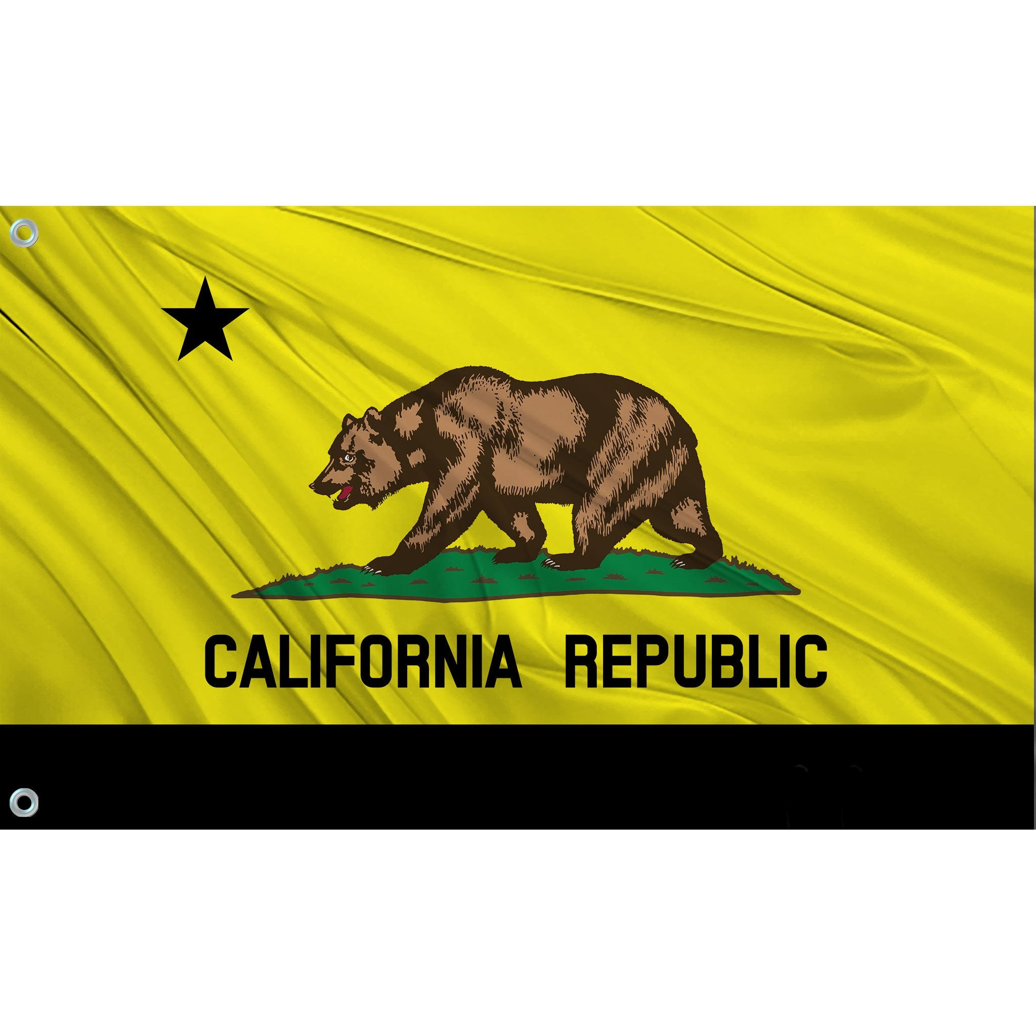 California State Flag (Yellow | Black)