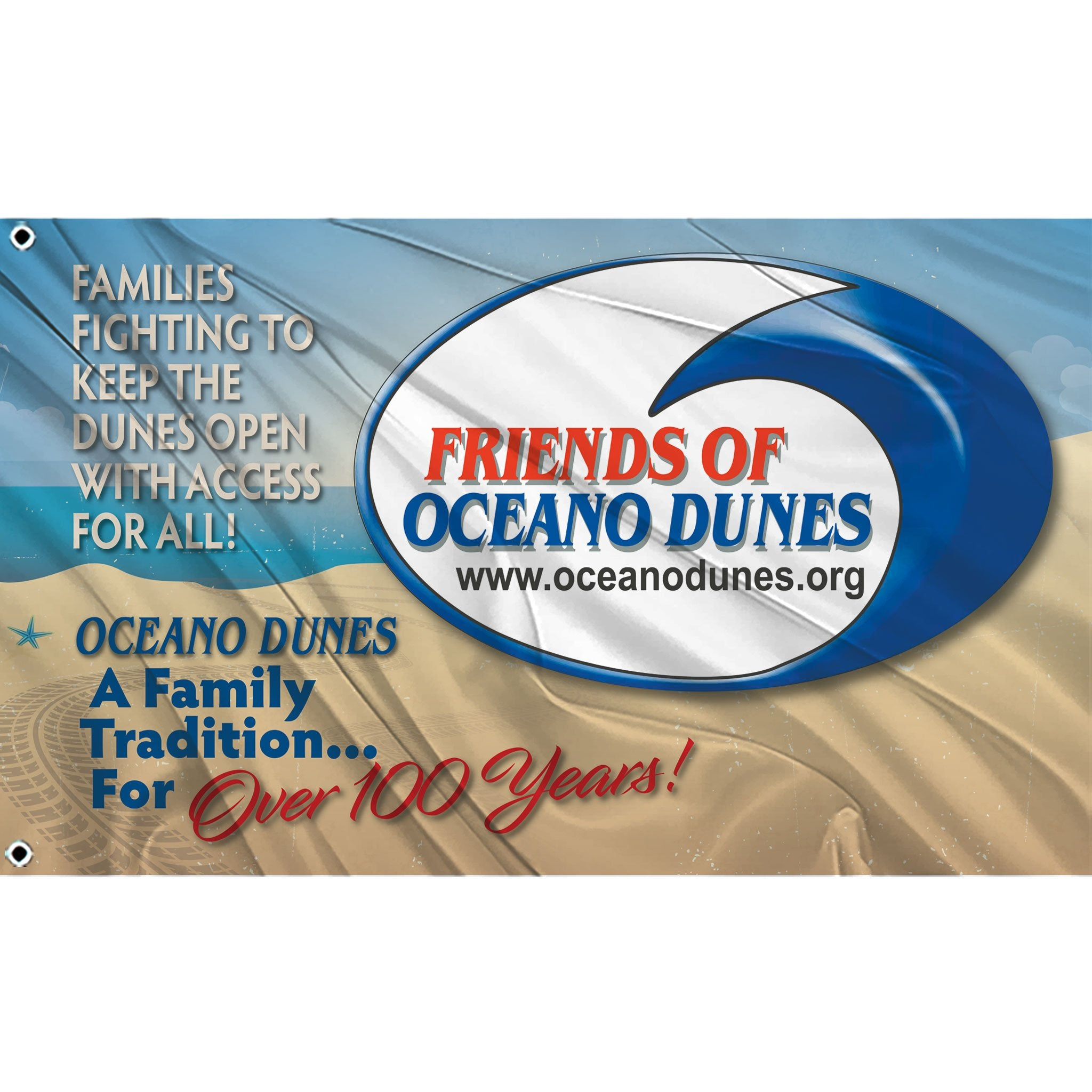 Friends of Oceano Dunes Flags