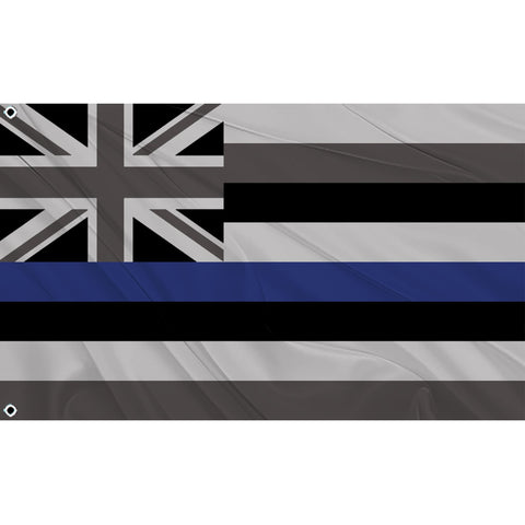 Blue Line Hawaiian Flag