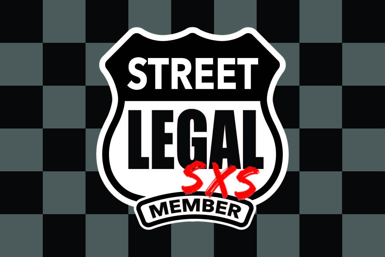 StreetLegal.us - Whip Flags - Checkered Grey