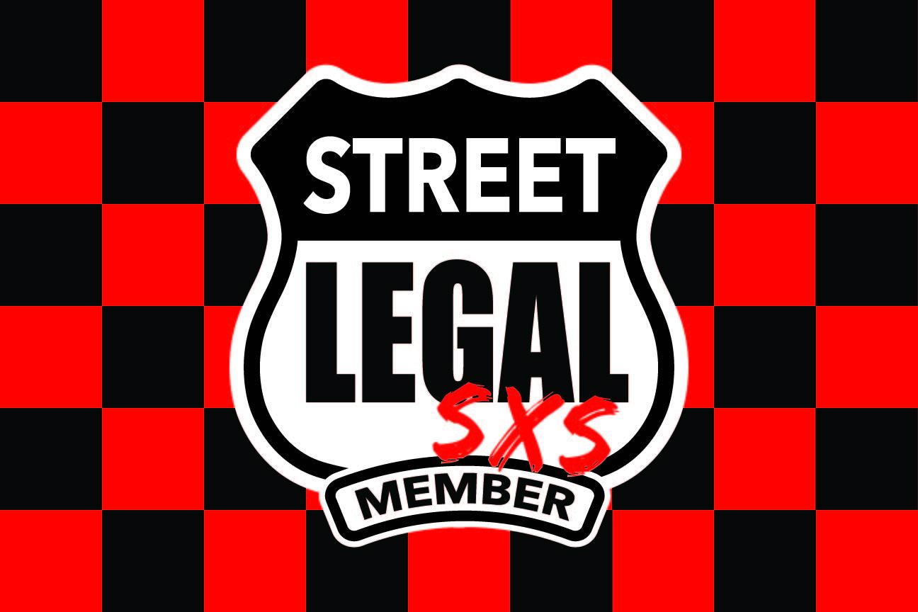 StreetLegal.us - Whip Flags - Checkered Red