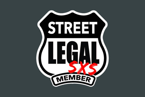 StreetLegal.us - Whip Flags - Grey