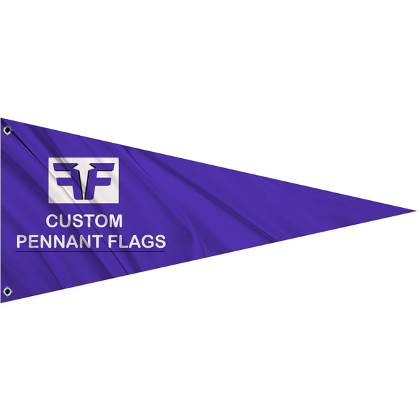 Custom Designed Pennant Flag