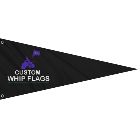 Custom Whip Flags - Dune Flags (Pennant)