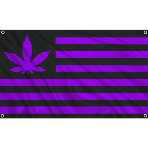 420 USA - Black w/ Purple