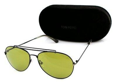Tom Ford Indiana Unisex Sunglasses TF 497 FT 0497 01N 9