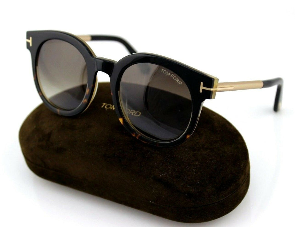 Tom Ford Janina Unisex Sunglasses TF 435 FT 0435 01K 7