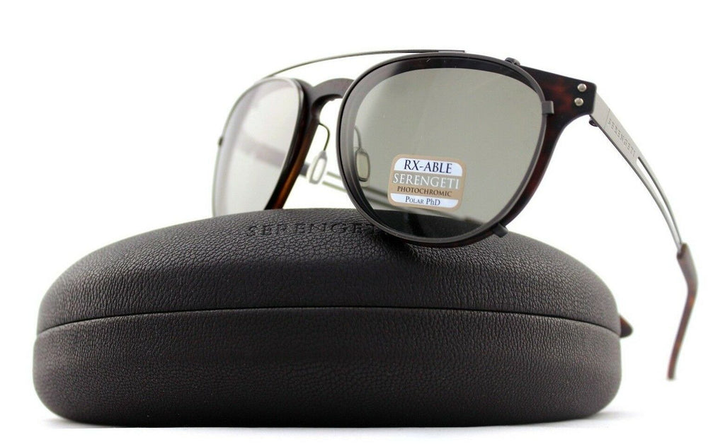 Serengeti Palmiro Clip-On Photochromic PHD CPG Polarized Unisex Sunglasses 8055