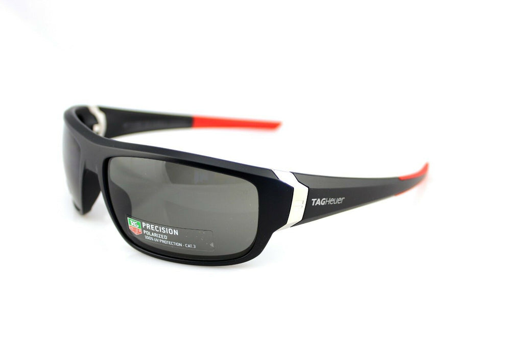 TAG Heuer Racer Precision Polarized Unisex Sunglasses TH 9221 108 64mm 3