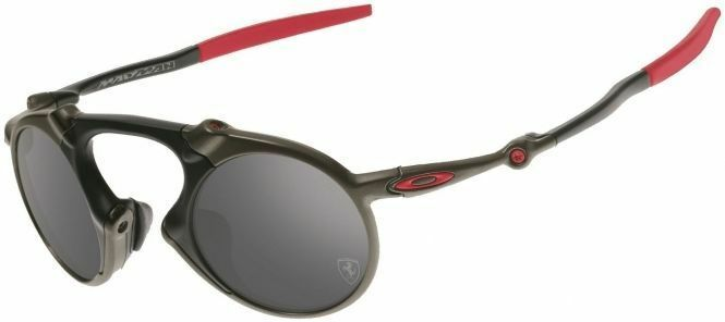 Oakley Madman Ferrari Polarized Men's Sunglasses OO 6019-06 9