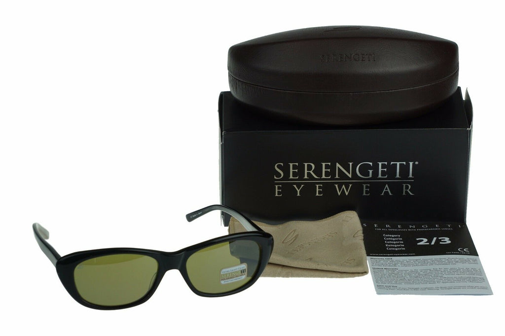Serengeti Bagheria Photochromic 555NM Polarized Women Sunglasses 7787