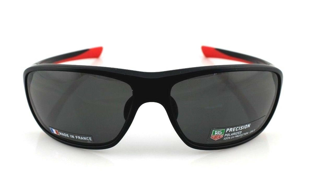 TAG Heuer 27 Degrees Wrap Unisex Polarized Sunglasses TH 6023 802 65mm 1