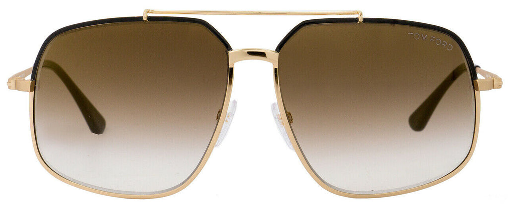 Tom Ford Ronnie Unisex Sunglasses TF 439 FT 0439 01G 1