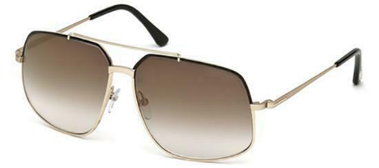 Tom Ford Ronnie Unisex Sunglasses TF 439 FT 0439 01G