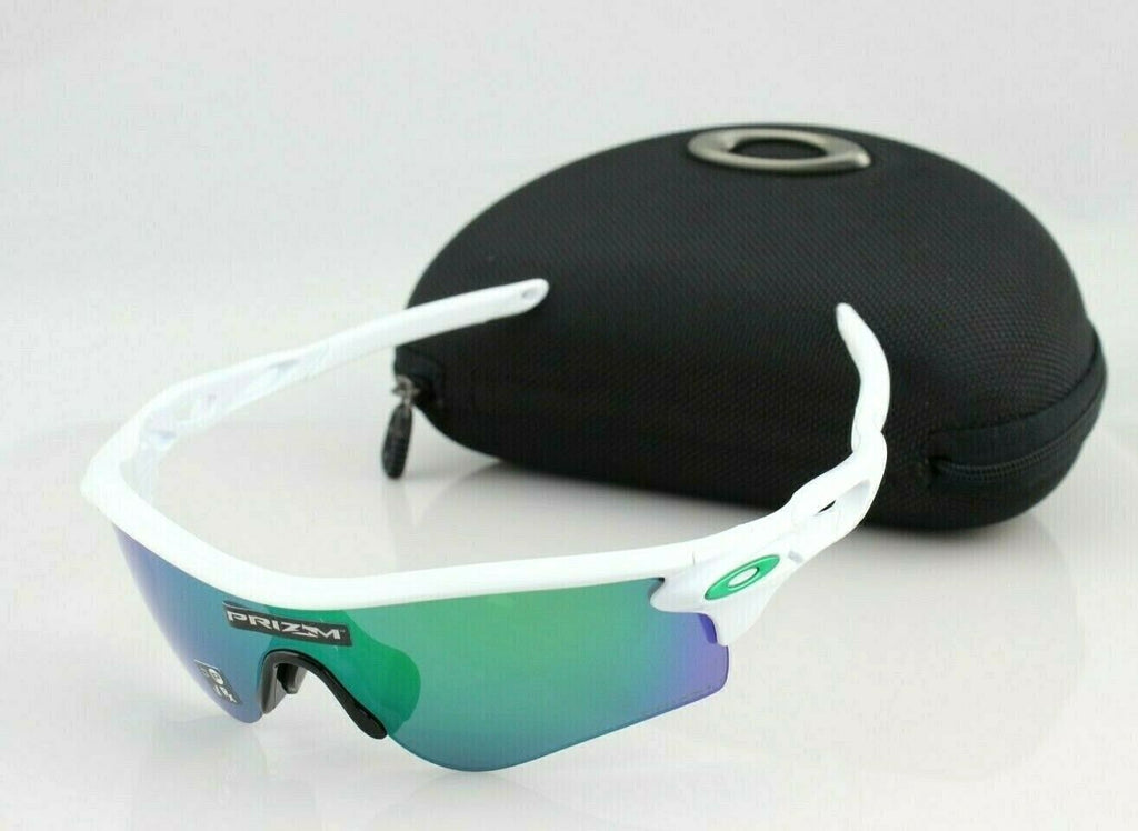 NEW OAKLEY RADARLOCK PATH White Prizm Jade Iridium Sunglasses OO9206-43 Asia Fit