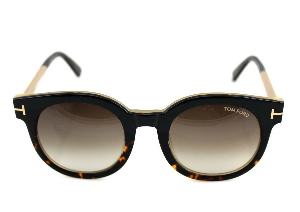 Tom Ford Janina Unisex Sunglasses TF 435 FT 0435 01K 1