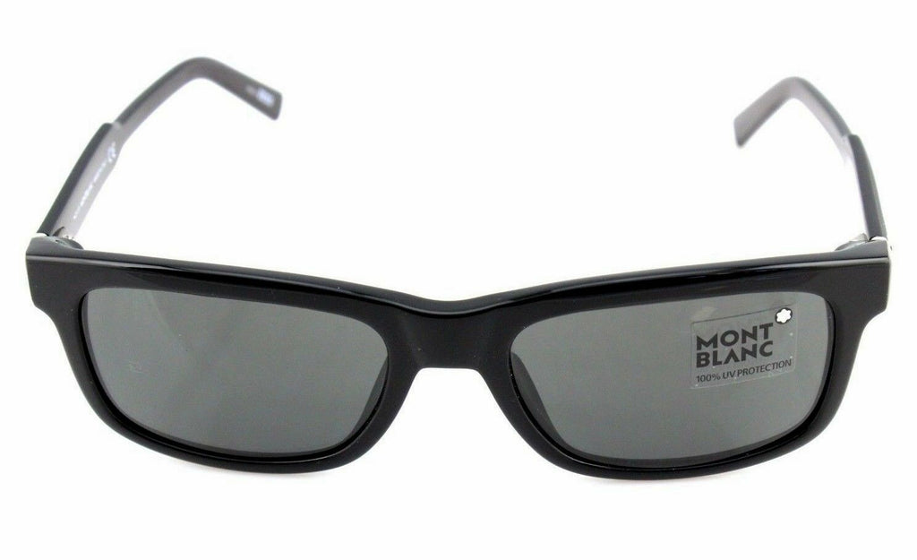 Mont Blanc Classiy Zeiss Unisex Sunglasses MB 653S 01N 2