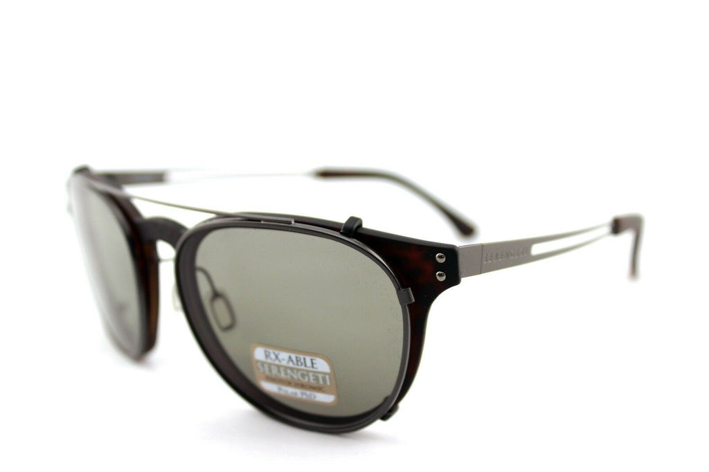 Serengeti Palmiro Clip-On Photochromic PHD CPG Polarized Unisex Sunglasses 8055 5