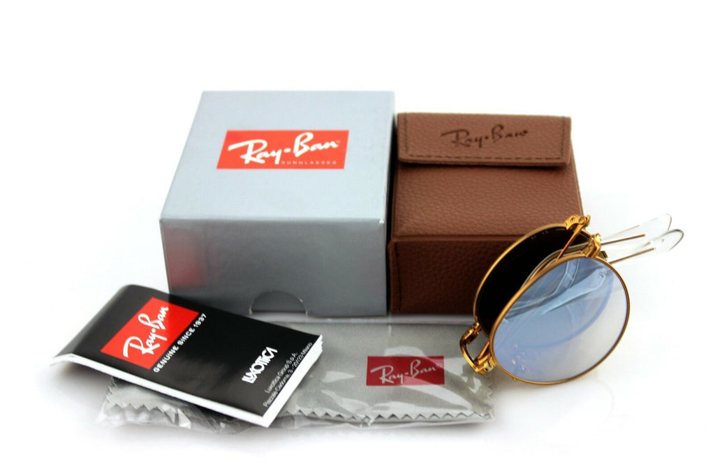 Ray-Ban Folding Unisex Sunglasses RB 3532 198/9U 1