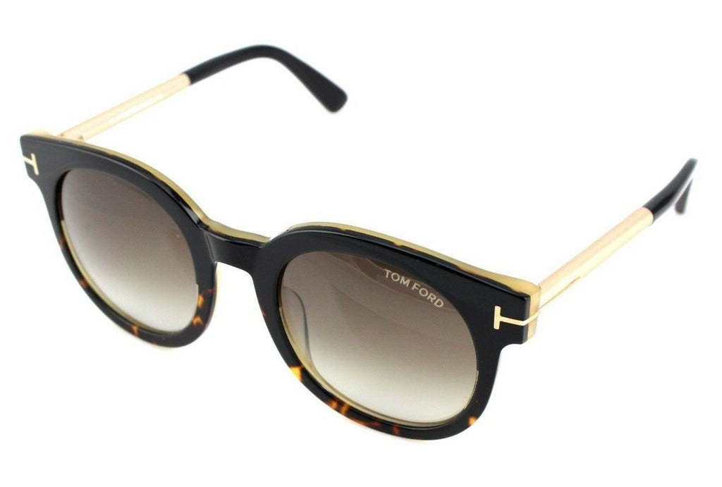 Tom Ford Janina Unisex Sunglasses TF 435 FT 0435 01K 2