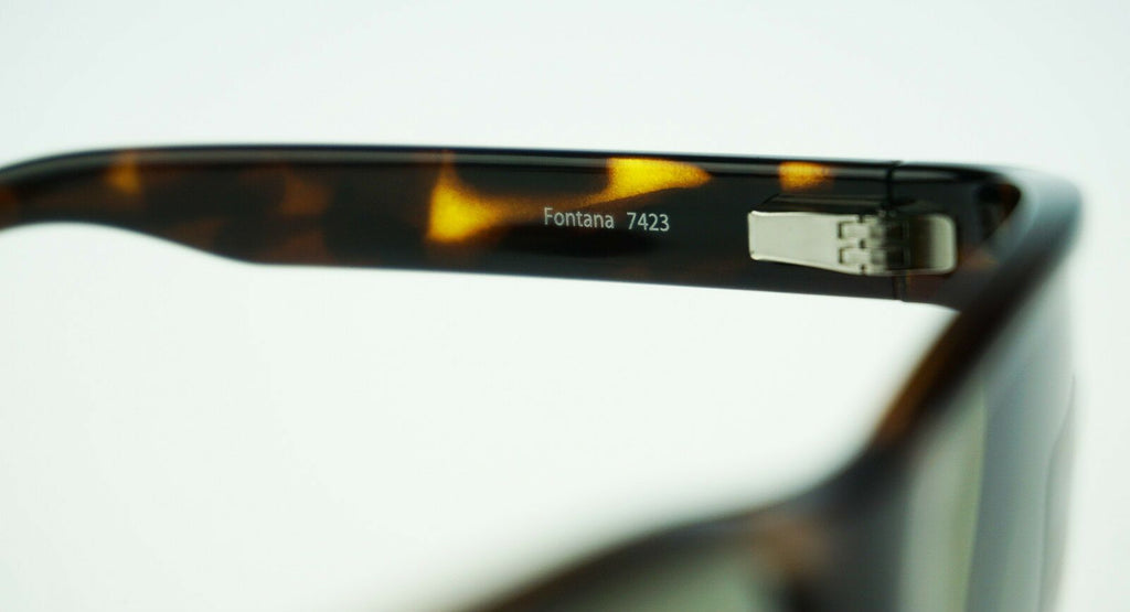 POLARIZED New SERENGETI Fontana Glass Lens Dark Tortoise 555nm Sunglasses 7423