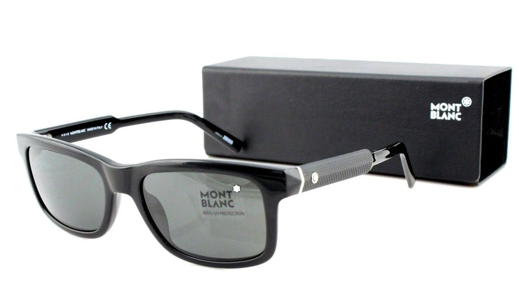 Mont Blanc Classiy Zeiss Unisex Sunglasses MB 653S 01N 7