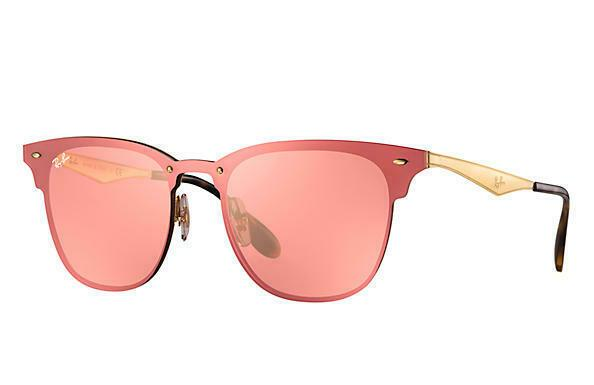 Ray-Ban Blaze Clubmaster Unisex Sunglasses RB 3576N 043/E4