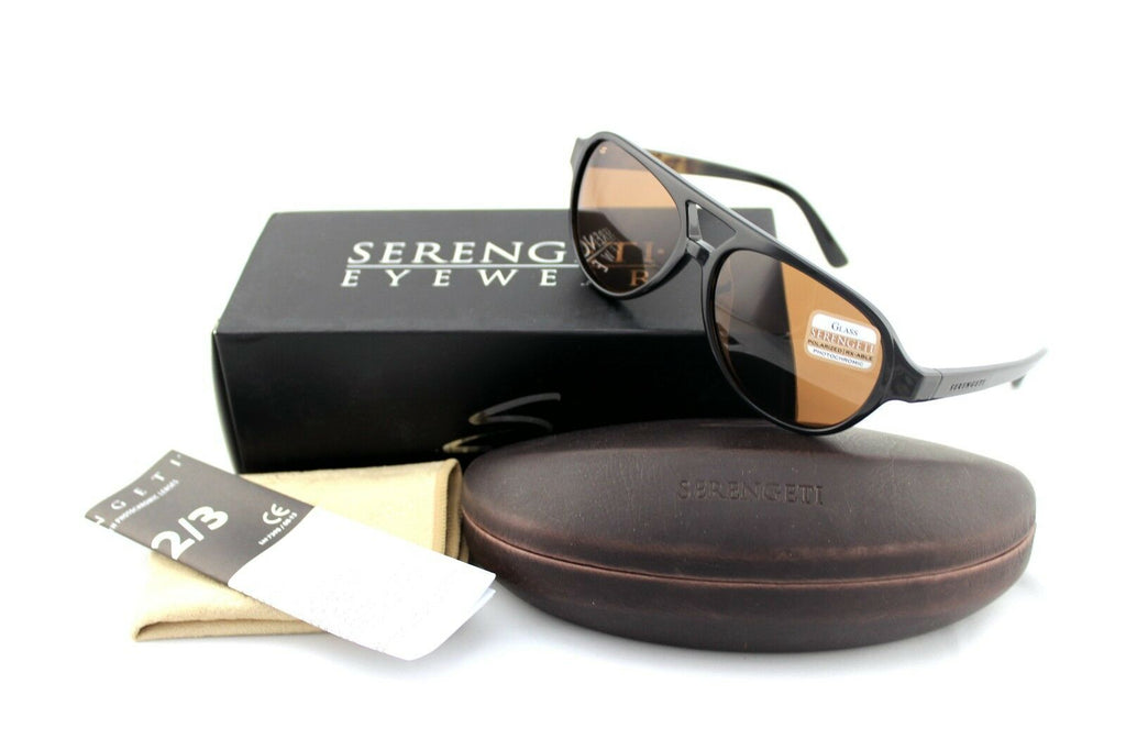 Serengeti Giorgio Polarized Unisex Sunglasses 8182 1