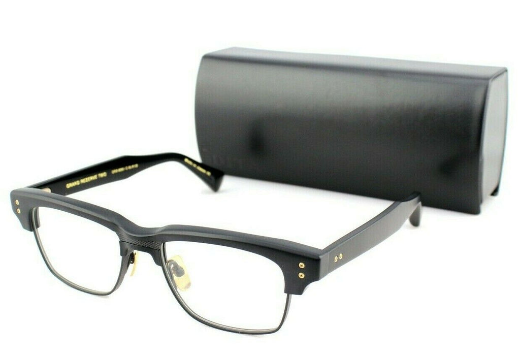 NEW Genuine DITA GRAND RESERVE TWO Matte Black Eye Glasses Frame DRX 2061 C 52