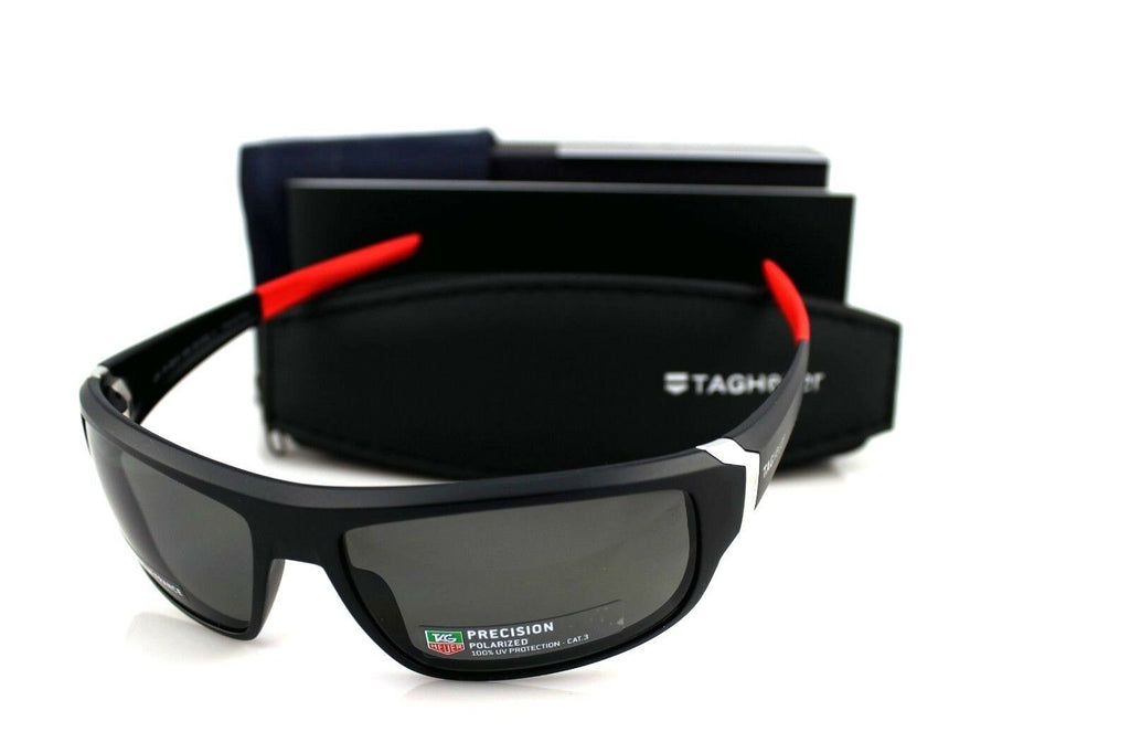 TAG Heuer Racer Precision Polarized Unisex Sunglasses TH 9221 108 64mm 1