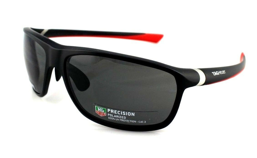 TAG Heuer 27 Degrees Wrap Unisex Polarized Sunglasses TH 6023 802 65mm