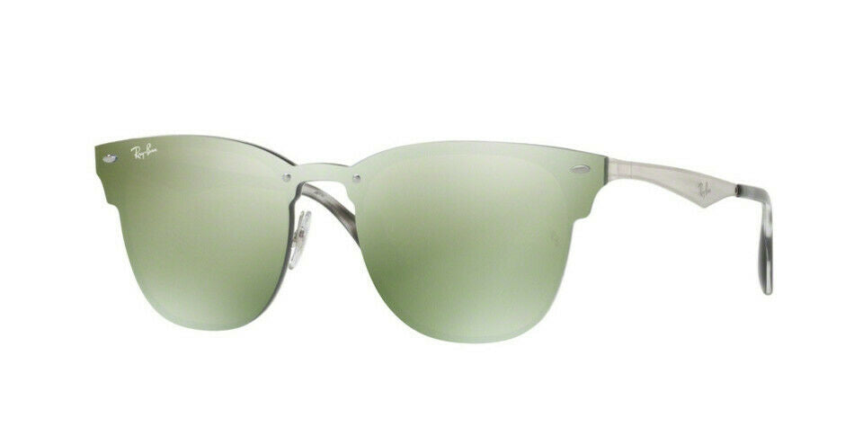 Ray-Ban Blaze Clubmaster Unisex Sunglasses RB 3576N 04230 1