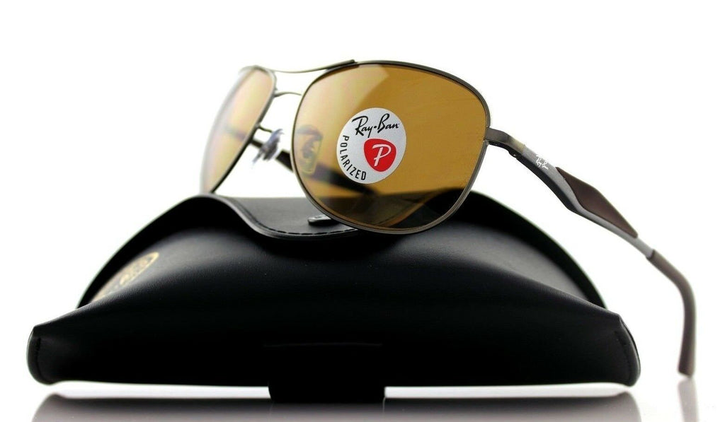 Ray-Ban Polarized Unisex Sunglasses RB 3519 029/83
