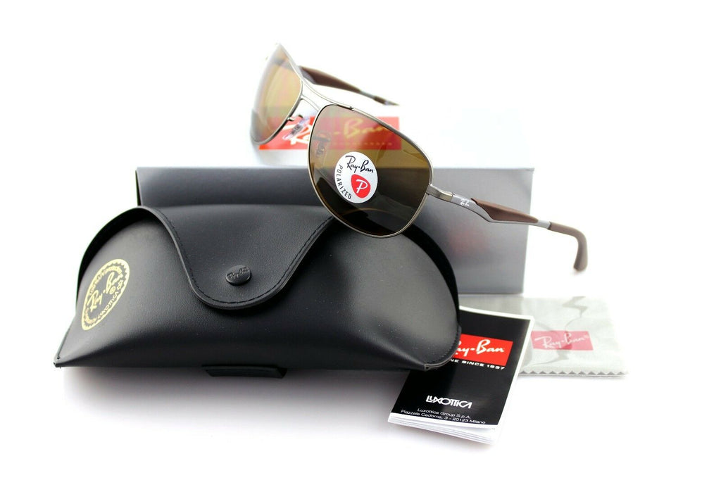 Ray-Ban Polarized Unisex Sunglasses RB 3519 029/83 1