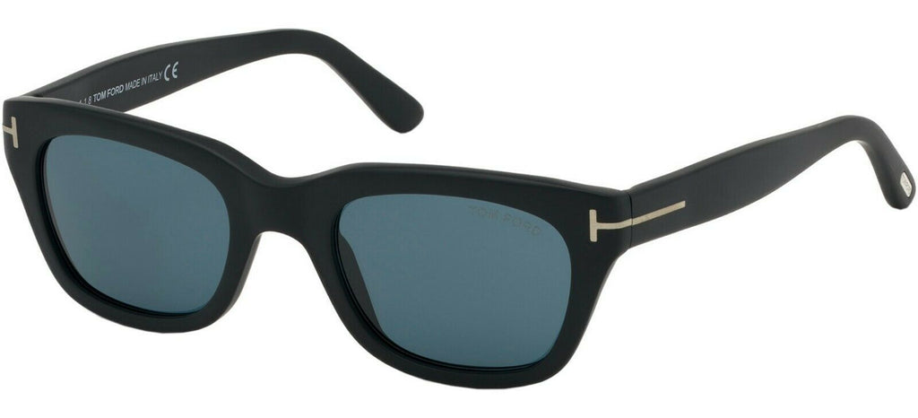 NEW James Bond 007 TOM FORD Snowdon Black Sunglasses TF 237 FT 0237 05V 52 mm