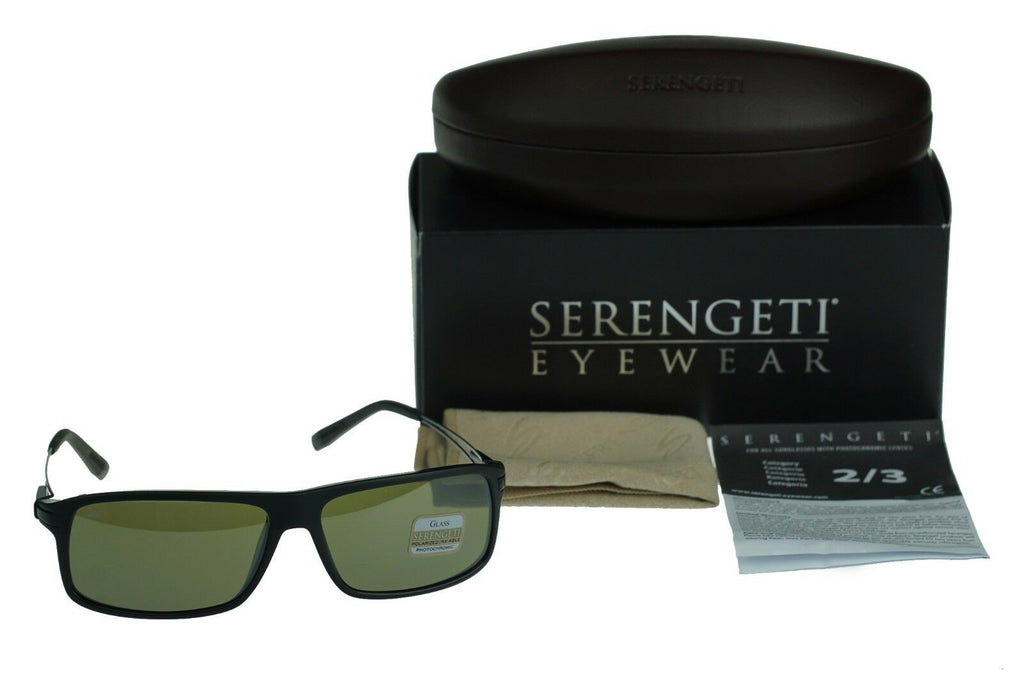 Serengeti Rivoli Photochromic 555NM Polarized Men's Sunglasses 7916 1