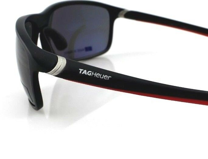TAG Heuer 27 Degrees Wrap Unisex Polarized Sunglasses TH 6023 802 65mm 3