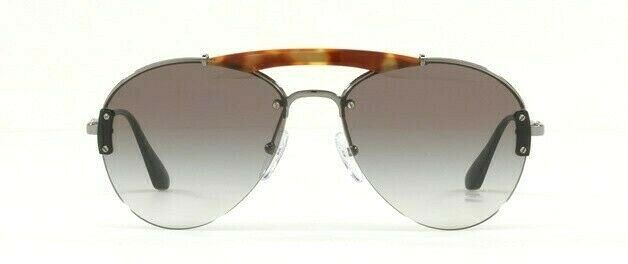 Prada Metal Plaque Evolution Unisex Sunglasses SPR 62U 2990A7 PR62 1