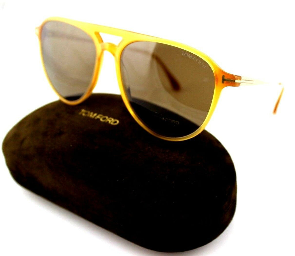 Tom Ford Carlo-02 Unisex Sunglasses TF 587 FT 0587 39J 58 7