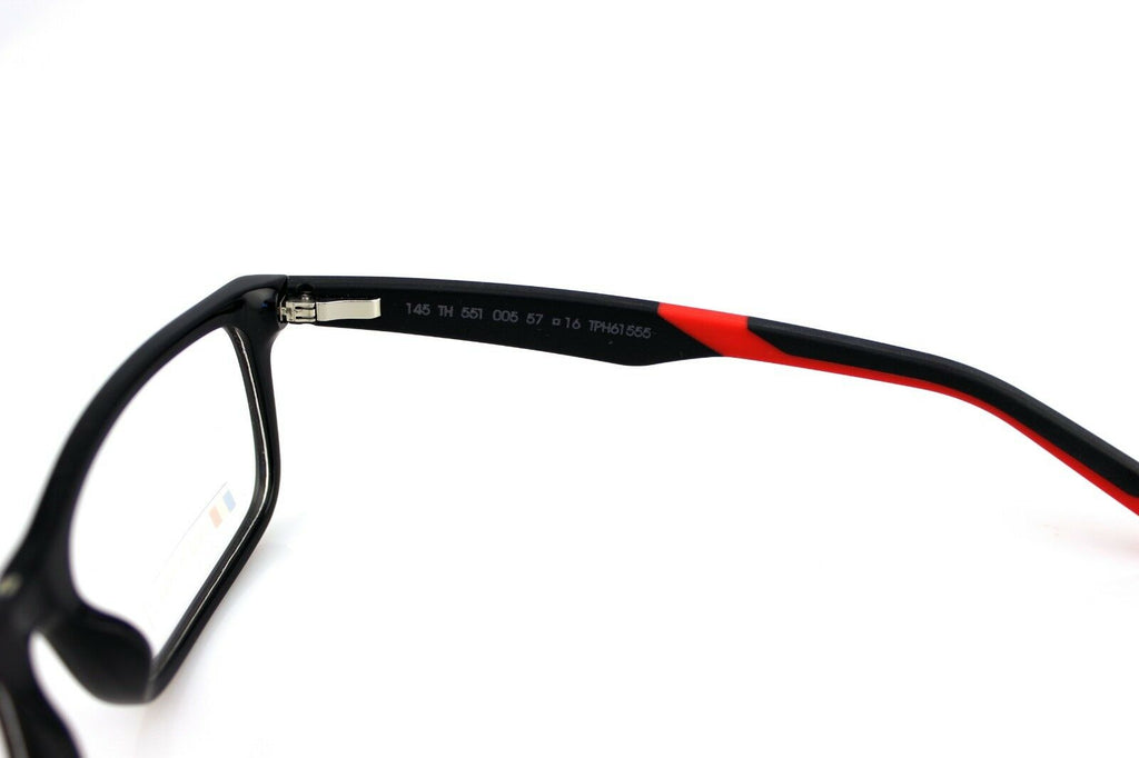TAG Heuer Unisex Eyeglasses TH 0551 005 57mm 4