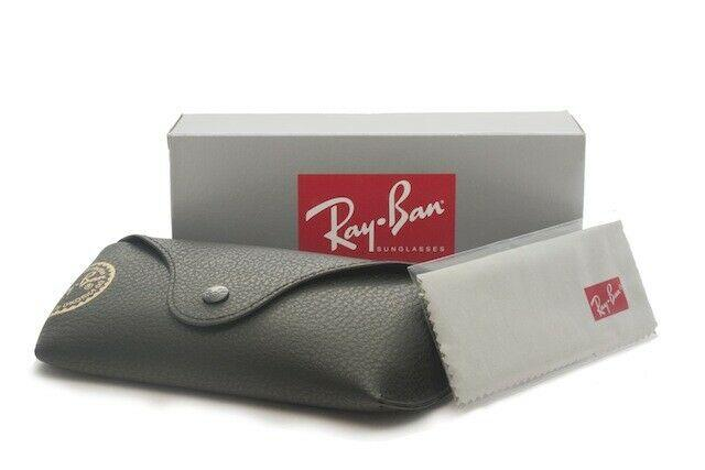 Ray-Ban Round Fleck Polarized Unisex Sunglasses RB2447 1245W0 6
