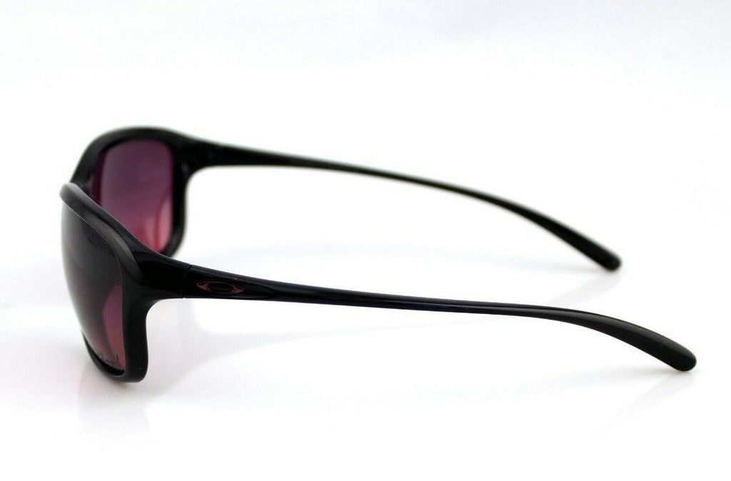 POLARIZED OAKLEY SHE'S UNSTOPPABLE  Black Rose Gradient Sunglasses OO 9297-01 3P