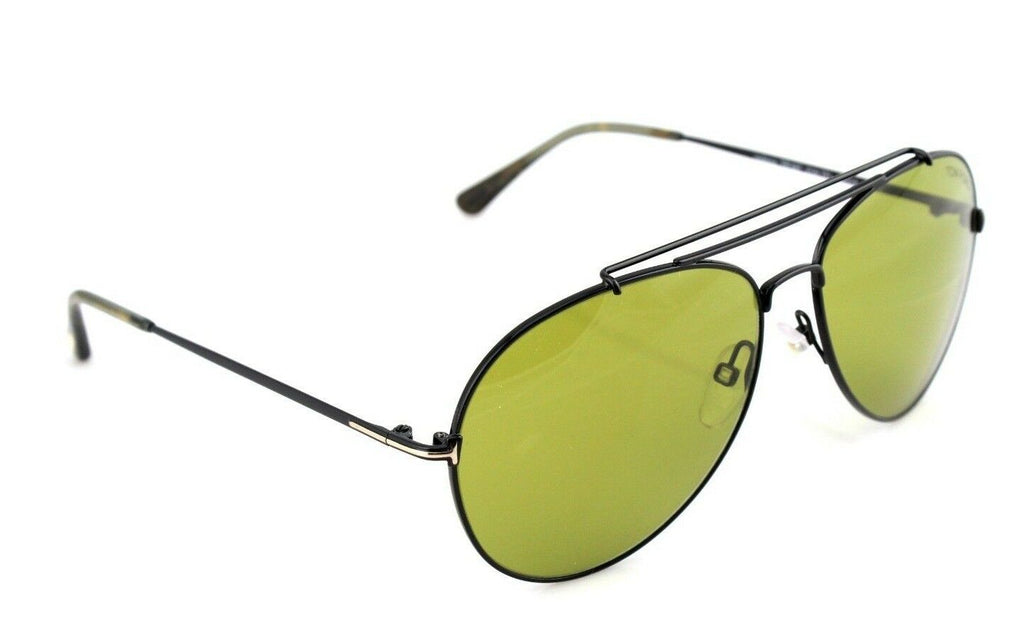 Tom Ford Indiana Unisex Sunglasses TF 497 FT 0497 01N 3