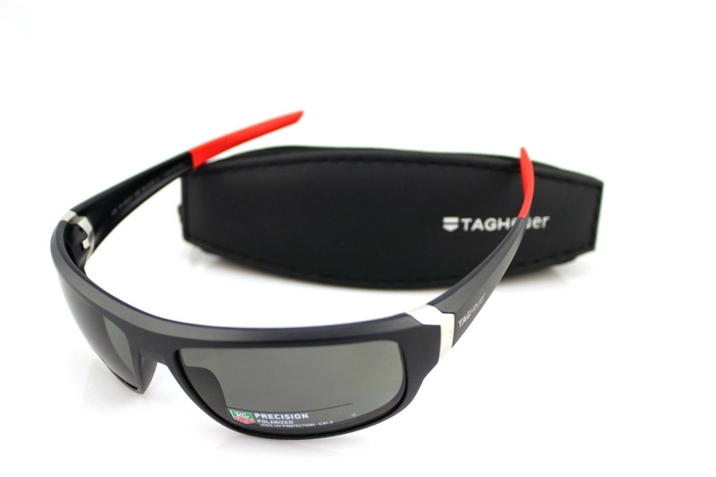 TAG Heuer Racer Precision Polarized Unisex Sunglasses TH 9221 108 64mm 8
