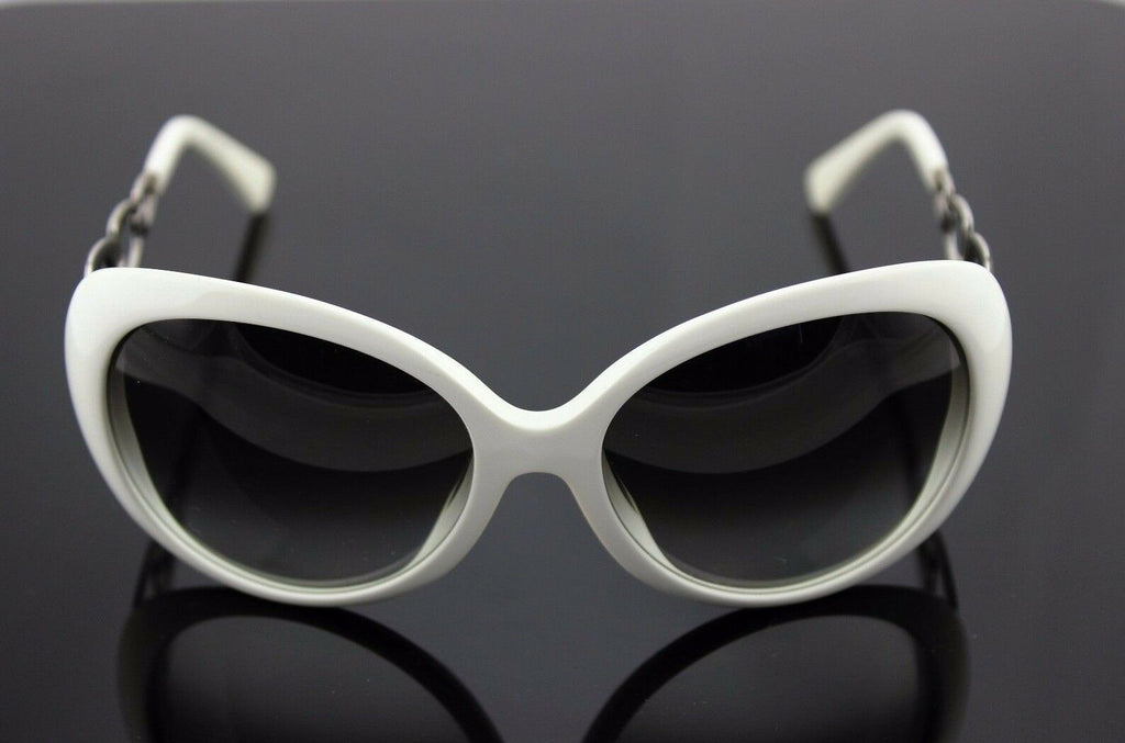 RARE New Genuine EMILIO PUCCI White Grey Gradient Square Sunglasses EP 624/S 105